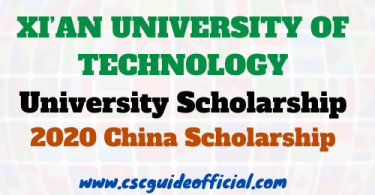 xian university of technology scholarship