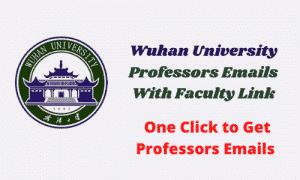wuhan university professors emails