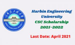 harbin engineering university csc scholarship 2021