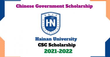 hainan university csc scholarship 2021 csc guide official