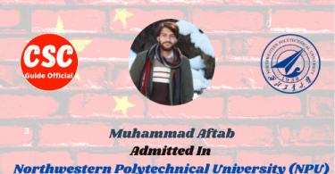 Muhammad Aftab npu CSC guide Official
