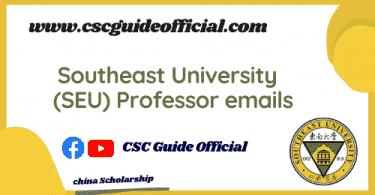 southeast university professors emails csc guide